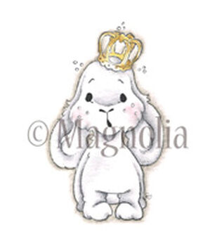 "Lost & Found Cling Stamp 6.5""X4"" Package-Bunny Prince"