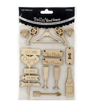 Wood crafts wood craft supplies jo ann for Wood veneer craft projects