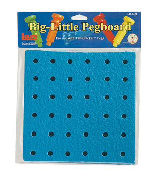 "Big-Little Pegboard 8""-36 Holes"