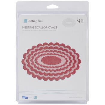 Lifestyle Crafts Nesting Dies Scallop Ovals