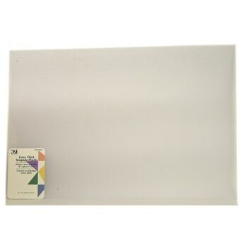"""Quilter's Thicker Plastic Template-12""""X18"""""""