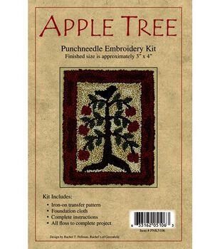 Rachel's of Greenfield Punch Needle Kit Apple Tree
