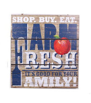 Sea To Shining Sea Wood Wall Plaque-It's Good For Your Family