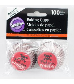 Wilton® Halloween 100ct Mini Baking Cups-Poison