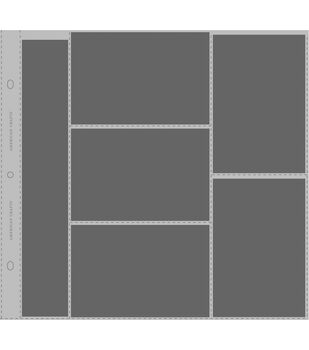 """Photo Protector Sleeves 12""""x12"""" 10/Pkg-For Postbound, D-Ring & 3-Ring"""