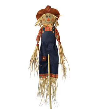 Maker's Halloween 60'' Boy Fall Scarecrow