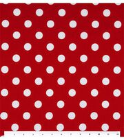 Keepsake Calico™ Cotton Fabric-Large Dots On Lipstick, , hi-res