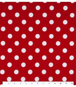 Keepsake Calico™ Cotton Fabric-Large Dots On Lipstick