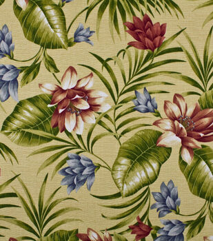 Home Decor Print Fabric-Solarium Siesta Key Garden