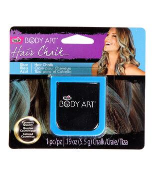 Tulip Body Art Hair Chalk .19oz-Blue