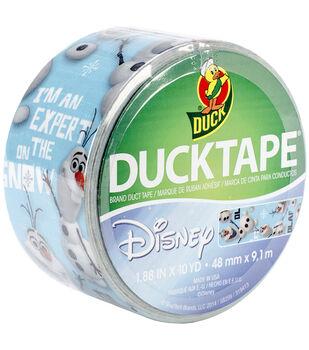 "Licensed Duck Tape 1.88""X10yd-Frozen - Olaf"