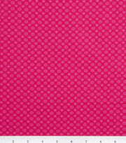 Keepsake Calico™ Cotton Fabric-Lined Dot Pink, , hi-res
