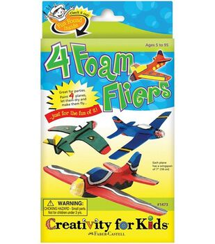Creativity for Kids Kit-4 Foam Fliers