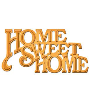 Spellbinders Shapeabilities Home Sweet Home Die D-Lites