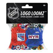Forever Collectibles Logo Loomz Filler Pack New York Rangers, , hi-res