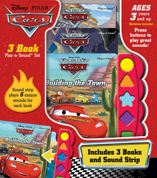 Play A Sound Cars 3bk Set