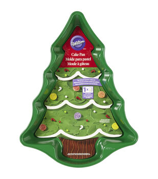 Wilton® Novelty Cake Pan-Green Tree