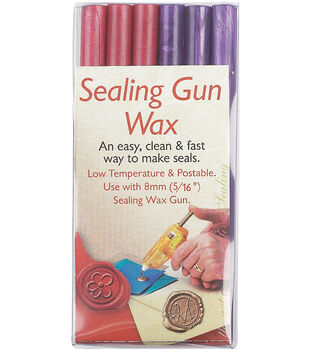 Manuscript Sealing Gun Wax Stickers 6/Pkg