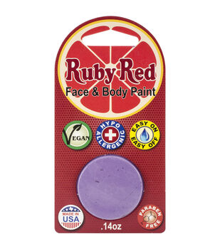 Ruby Red Face Paint .14oz-Lilac