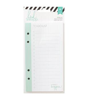 Heidi Swapp Memory Planner List Pad 24/Pkg-To Do