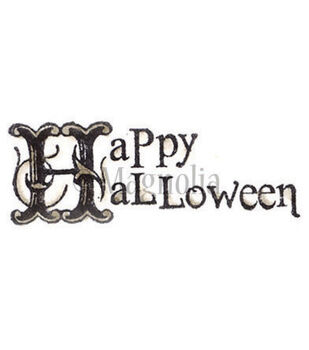 Magnolia So Spooky Cling Stamp Happy Halloween