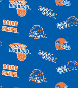 Boise State NCAA  Cotton Fabric