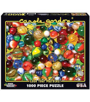 White Mountain Puzzles Jigsaw Puzzle Lose Your Marbles!