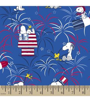 Patriotic Fabric-Peanuts™ Fireworks