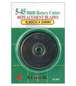 Ergo 2000 Rotary Cutter 45mm Replace Blades-5/Pkg