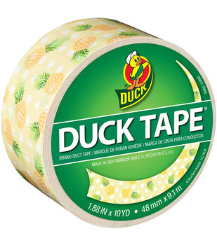 Pineapple -patterned Duck Tape