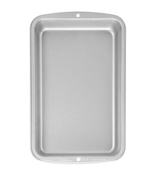 """Wilton® Recipe Right Biscuit/Brownie Pan 11""""X7""""-"""