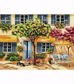 """Paint By Number Kit 12""""X15-1/2""""-Al Fresco"""