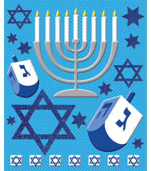 Sticker Medley-Hanukkah