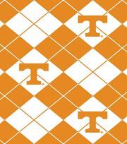 University of Tennessee NCAA Argyle Fleece Fabric, , hi-res