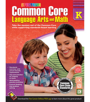 Spectrum Common Core Language Arts And Math Book Grade k