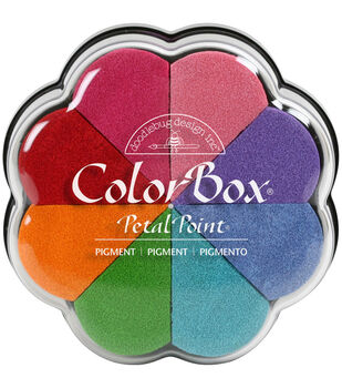 ColorBox Pigment Petal Point Option Pad 8 Colors-Fun