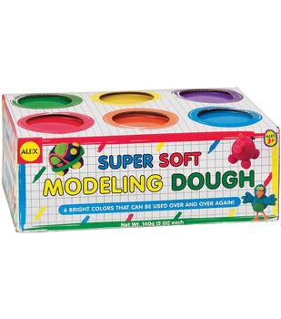 Alex Toys Super Soft Modeling Dough 5 Ounces 6/Pkg