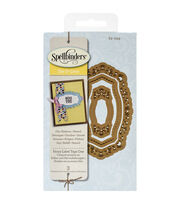 Spellbinders Shapeabilities Die D-Lites-Fancy Label Tags 1, , hi-res