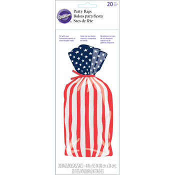 Wilton® Treat Bag Red White Blue 20ct