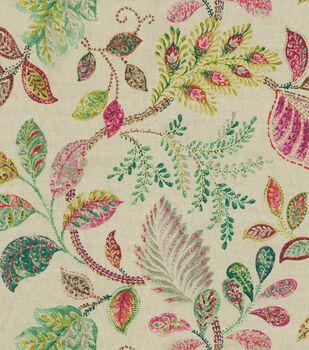P/Kaufmann Upholstery Fabric-Autumn Leaves Tutti Frutti