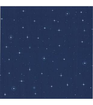Starfleet Navy Blue Stars Wallpaper Sample