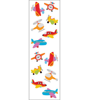 Mrs. Grossman's Stickers-Chubby Airplanes