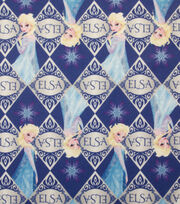 Disney Frozen Elsa Toss Sweatshirt Fleece Fabric, , hi-res