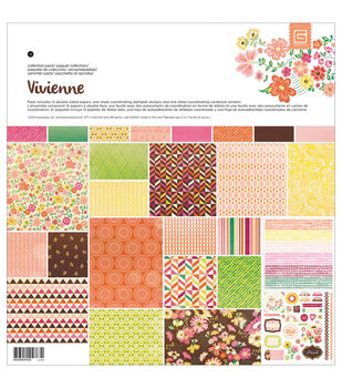Basic Grey Vivienne Scrapbook Kit