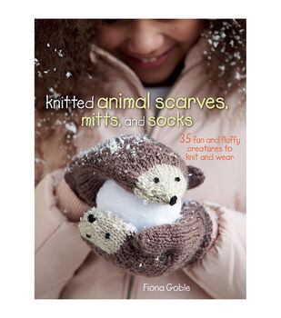 Fiona Goble Knitted Animal Scarves, Mitts Book