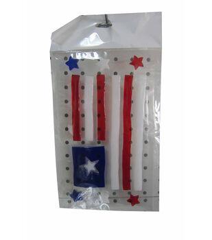 Sea To Shining Sea Gel Cling-American Flag