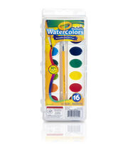 Crayola Watercolor Pan Set 16 Colors, , hi-res