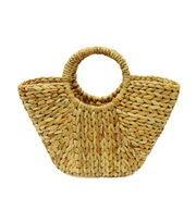 Escape To Paradise Grass Rope Shopping Bag, , hi-res