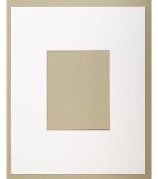 16 X20 White Photo Mat