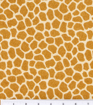 Nursery Fabric Jungle Babies Flannel Giraffe Skin
